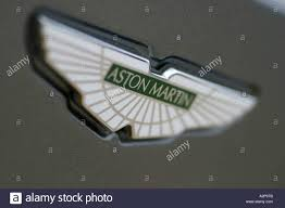 logo aston martin aston martin badge on the db9 sports car stock photo royalty free