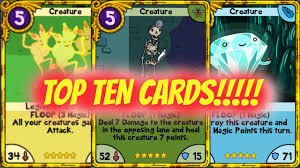 wars cards 10 most powerful cards in card wars