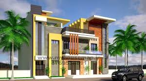 modern elevation design of residential buildings