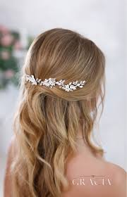 hair crystals kalypso flower bridal hair pins with crystals rhinestone wedding