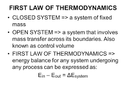 5 first law of thermodynamics