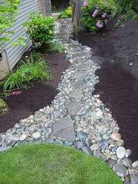 Images Of Backyard Landscaping Ideas by Best 25 Garden Stones Ideas On Pinterest Diy Stepping Stones