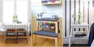 Play Kitchen From Old Furniture by Ikea Bekvam Step Stool Ikea Hacks