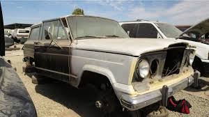 1970 jeep wagoneer interior junkyard treasure 1969 jeep wagoneer autoweek