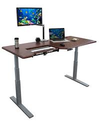 Stand Computer Desk by Omega Olympus Standing Desk With Built In Steadytype Keyboard Tray