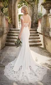 cap sleeve wedding dress essense of australia d1897 lace cap sleeve wedding dress 1 100