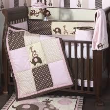 Pink Brown Crib Bedding Lambs 4 Pc Crib Bedding Set Pink Brown By Lambs