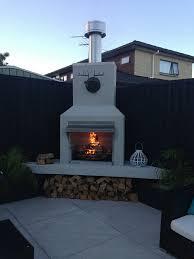 outdoor fireplaces aztec fires