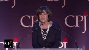 thanksgiving speech for award amanpour receives press freedom award cnn video