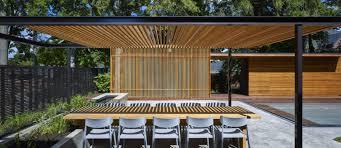 Oak Trellis A Backyard Pavilion And Pool For The Perfect Escape Design Milk