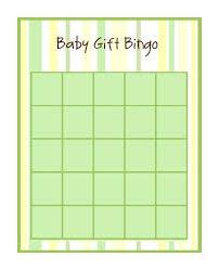 baby shower gift bingo 29 sets of free baby shower bingo cards