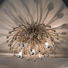 Large Flush Mount Ceiling Light by 3rd Floor Sadie U0027s Bedroom Robert Abbey Anemone Large Flush Mount