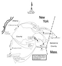 Lake Alan Henry Map The Misnamed Columbia County U0027battle Of Egremont U0027 The New York