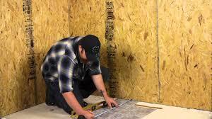 Stick Laminate Flooring How To Install Peel U0026 Stick Vinyl Flooring Over An Existing Floor