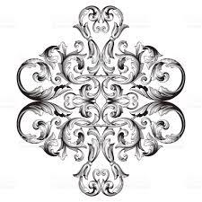 vintage baroque ornament vector stock vector 828748916 istock