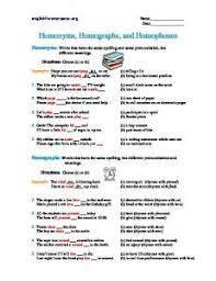 homonyms and homographs worksheet 1 pdf ereadingworksheets