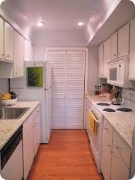 White Galley Kitchen Best Stunning Modern White Galley Kitchen 6935 Norma Budden