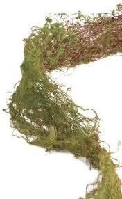 moss ribbon artificial moss ribbon garland roll for terrariums miniature