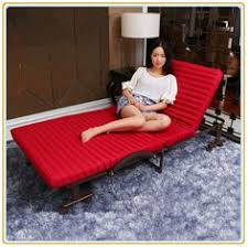 Folding Guest Bed With Wine Red Mattress 190 70cm Buying Foldable