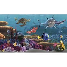 york wallcoverings walt disney kids ii finding nemo wall mural walt disney kids ii finding nemo wall mural