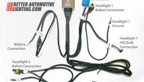 hid relay harnesses explained better automotive lighting