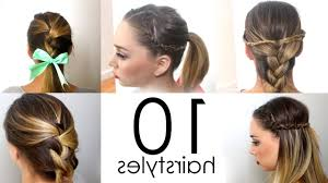 Easy Hairstyles For Medium Hair At Home by Easy Hairstyle For Medium Hair At Home Easy Hairstyles For Short