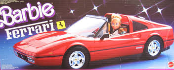 80s ferrari amazon com barbie ferrari convertible car vehicle 1987 mattel