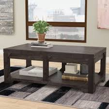 coffee tables with pull up table top lift top coffee tables you ll love wayfair