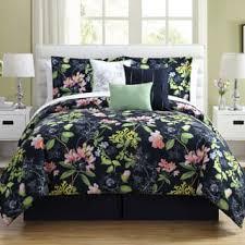Green And Black Comforter Sets Queen Floral Comforter Sets For Less Overstock Com