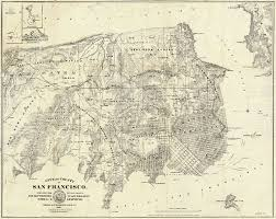 Map Of San Francisco Ca by New Exhibit Shows San Francisco U0027s Dramatic Growth With Maps Wired