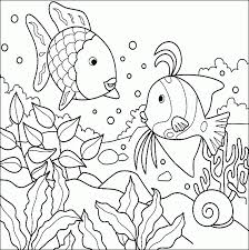 free coloring pages of fish under the ocean 10761