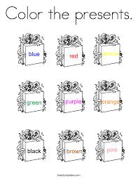 color presents coloring twisty noodle