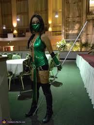 Scorpion Halloween Costume Mortal Kombat Game Characters Creative Costumes Photo 3 8