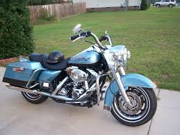 post up your chopper blue pacific blue pearl road kings harley