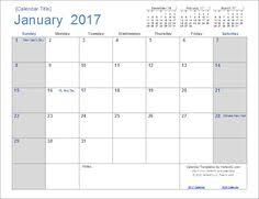 a simple to use free calendar template for excel each month is on
