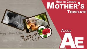 how to create mother u0027s days wedding template in after effects cc
