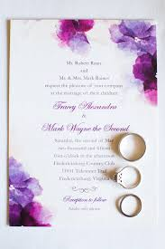 purple wedding invitations purple wedding invitation designs registaz