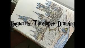 drawing hogwarts youtube