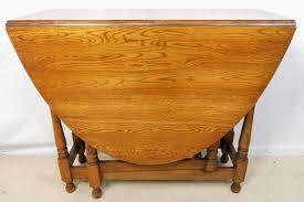 Oak Drop Leaf Dining Table Oak Oval Dropleaf Gateleg Dining Table Sold