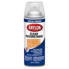 krylon clear polyurethane coating