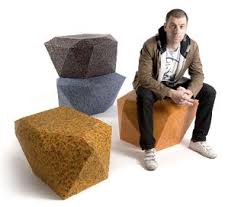Recycling Office Furniture by Rodrigo Alonso U0027s Stools And Recycling Bins Made From Post Consumer