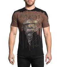 mens sleeve shirts affliction t shirts supreme quality