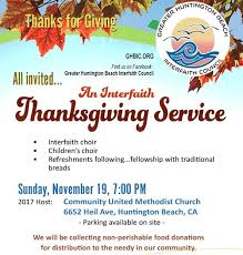 interfaith thanksgiving service community united methodist
