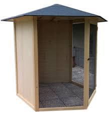 produttori gabbie per uccelli grande voliera esagonale in legno da giardino con voliere da