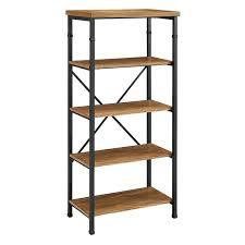 South Shore Shelf Bookcase Bookcase Orion 4 Shelf Bookcase White Whittier Wood Mckenzie