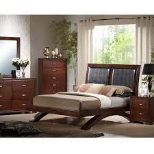 Upholstered Bedroom Sets Raven Upholstered 5 Pc Bedroom Set