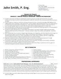 marketing resume template marketing manager resume template