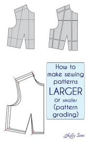pattern grading easy how to enlarge a sewing pattern with powerpoint sewing patterns