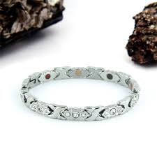 swarovski stainless steel bracelet images Swarovski stainless steel clear negative ion by p rlife jpg