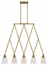 Brass Lighting Fixtures by Heritage Brass Gatsby U003e Interior Hanging